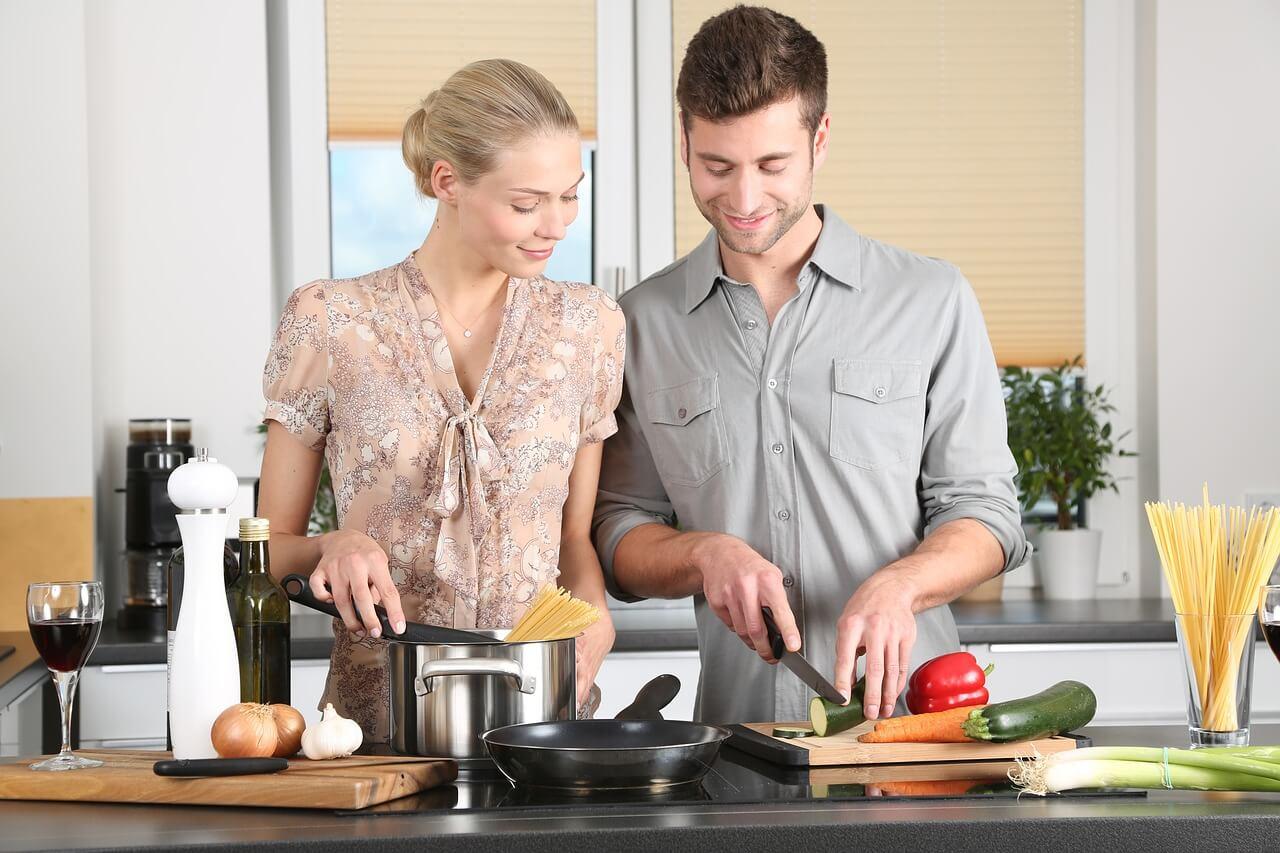 Koken met courgettes